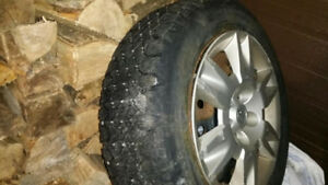 winter tires with rims for Nissan Altima 2005