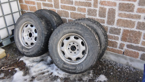 New Toyo snow tires off F150 - 265/70/r17