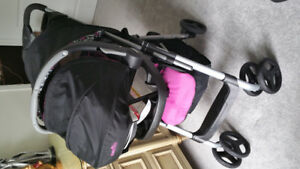 Evenflo stroller and car seat with base...