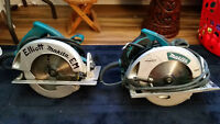 "TWO 7.25"" Makita Skillsaws!! For the price of ONE!!"