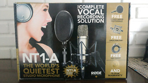 Rode NT1-A Mic and starter kit!! In box, unopened.