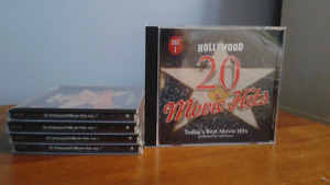 Collection de 5 disques Movie Hits