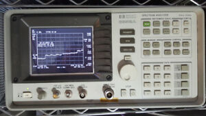 spectrum analyzer HP8592a 9khz-22ghz