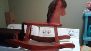Hand made wooden Rocking Horse best offer