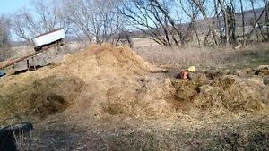 manure to give/fumier a donner