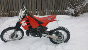 1988 cr 250 redone for 125