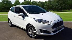 2017 Ford Fiesta 1.25 82 Zetec 3dr Manual Petrol Hatchback