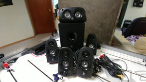 Logitech Z-506 Surround Sound Speakers
