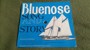 Bluenose Song & Story record