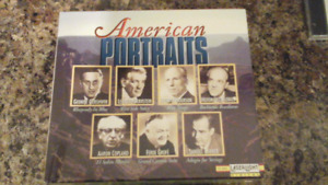 American Portraits (CD, Laserlight) - 5 DC Boxset
