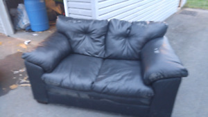 Used sofa and loveseat
