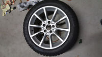 Bmw 650 12+  OME winter tire complete set rim and tire