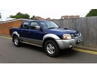 Nissan Navara 2.5 Di 4dr 2004 04 REG F.S.H 1 OWNER STARTS AND DRIVES