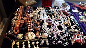 Large Selection of Costume Jewelery --- LOT #1