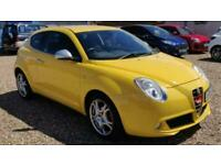 2009 Alfa Romeo MiTo 1.4 VELOCE 16V 3d 95 BHP Hatchback Petrol Manual
