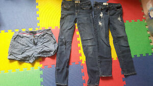 Size 14 jeans and 16 shorts