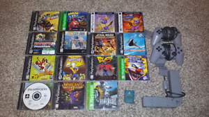 Selling a Bundle of Playstation 1 Games+Accessories!