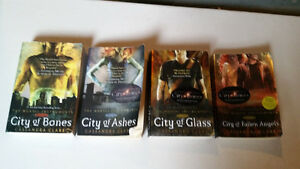 Mortal Instruments Series books 1-4