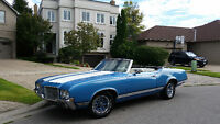 -*-1971 OLDSMOBILE CUTLASS SUPREME CONVERTIBLE-*-