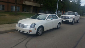 '07 Cadillac CTS pearl white LOW HWY DRIVEN KM - $7,499