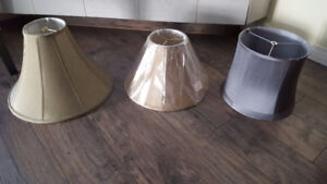 Lamps shades $5 each