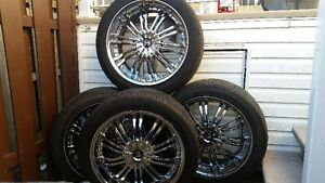 20 inch mag wheels and tires - mags et pneus 20 pouces