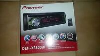 Pioneer Deh-X3600UI With USB,and remote control