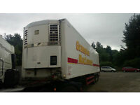 GRAY & ADAMS TRI AXLE FRIDGE TRAILER