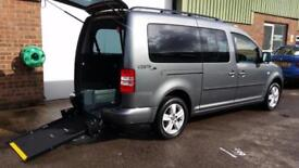 2012 VW Volkswagen Caddy Maxi Life Wheelchair Disabled Accessible Vehicle AUTOMA