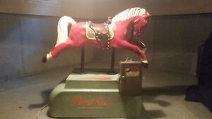 Antique dime operated horse for sale