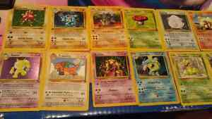 Pokemon Cards from the late 90's- early 2000's!