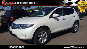 CERTIFIED 2010 Nissan Murano SL-PST PD-REMOTE START-YORKTON