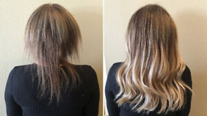 Lost Hair Vol. or Length?  Extensions  -  First Sew-in  FREE