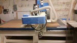 CNC Router and Vacuum Press Machines for Sale