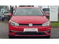 2017 Volkswagen Golf 1.0 TSI SE Nav DSG (s/s) 5dr Auto Hatchback Petrol Automati