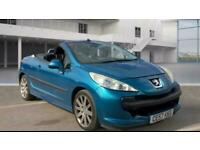 2007 Peugeot 207 1.6 16V GT 2dr *** LOW MILES- FREE DELIVERY *** CONVERTIBLE Pet