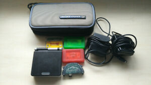 Selling Black & Silver Gameboy Advance SP With Games And Extras!