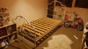 King Single Wrought Iron Bed Frame