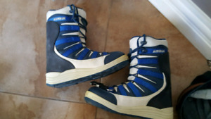 Old school snowboard boots and fix