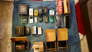 Guitar effects Pedal Purge