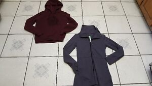 Size small hoodie and yoga sweater-  Fundraiser- NEGC