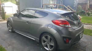 2015 Hyundai Veloster Turbo Matte finish