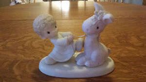 """Precious Moments """"We're Pulling For You"""" Enesco 106151 For Sale!"""