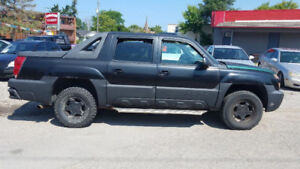2002 Chevrolet Avalanche Pickup Truck, AS IS