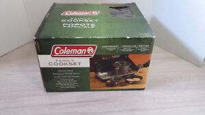 Coleman family cook set / Popote Familiale West Island Greater Montréal image 1