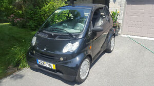 Smart Fortwo Cabrio (97800 km seulement)