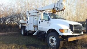 Ford F750 Auger Truck