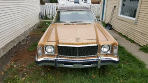 1977 Mercury Monarch. Excellent Condition. Vintage Original