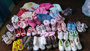 Lot de soulier bebe fille