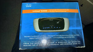 Cisco Linksys E2000 Advanced Wireless-N router 5ghz